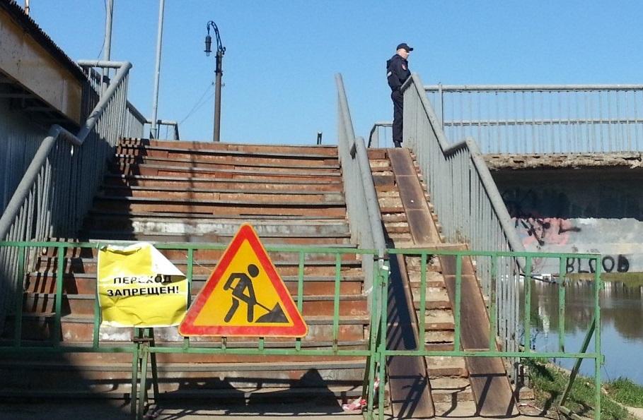 Областное правительство не выделит деньги на реконструкцию Красного моста в Вологде