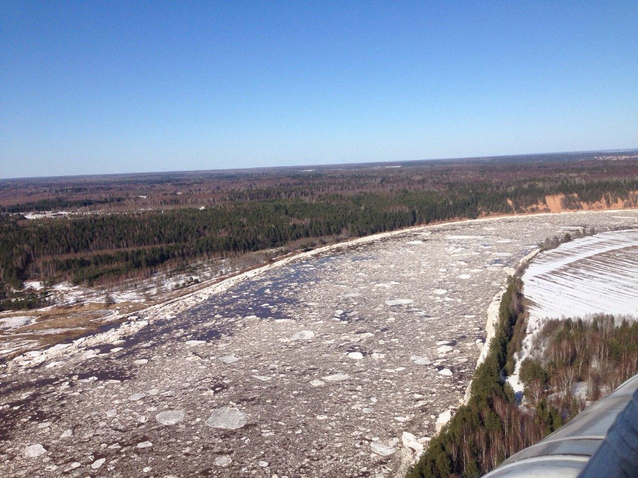 Вторая волна ледохода ожидается вечером в Великом Устюге