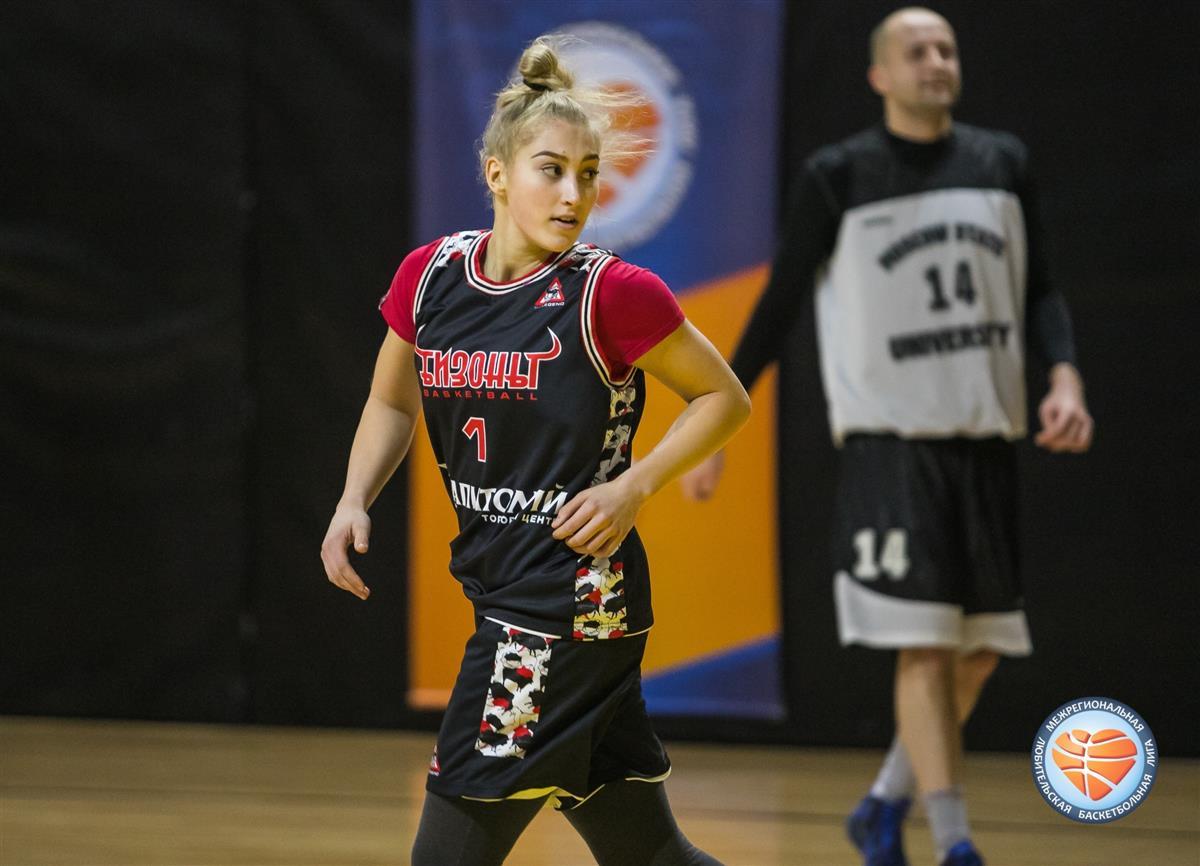 Баскетбольный клуб «Вологда-Чеваката» подписал контракт с Дианой Кожлаевой