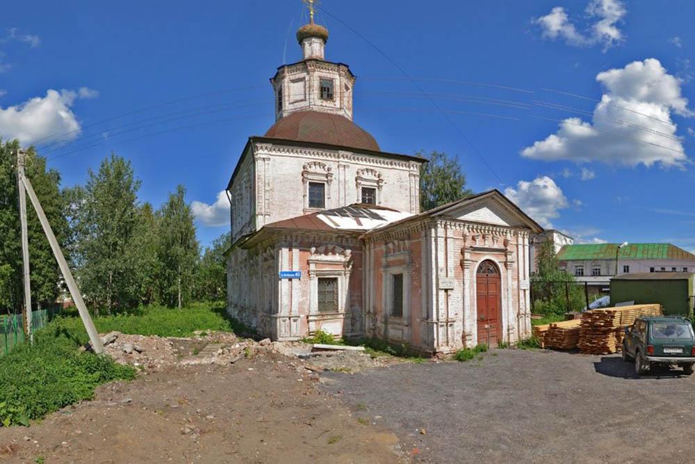 Владимирскую церковь в Вологде передали в собственность общины прихожан
