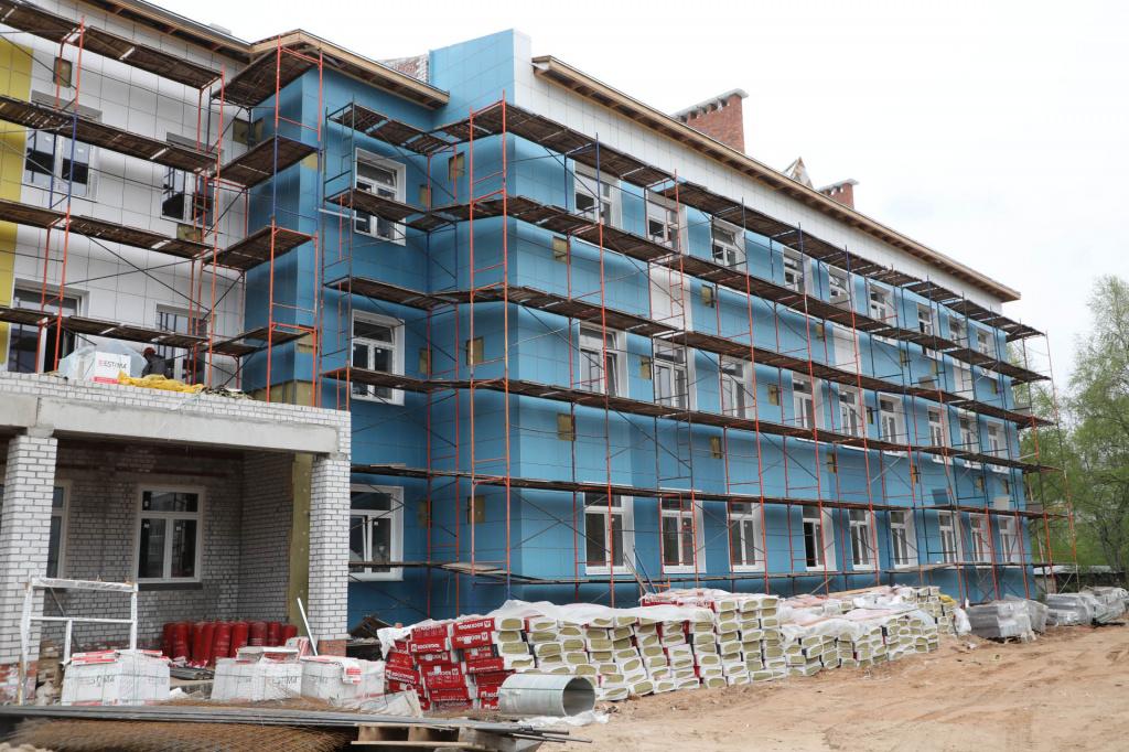 Открытие новой школы в Соколе 1 сентября может быть сорвано
