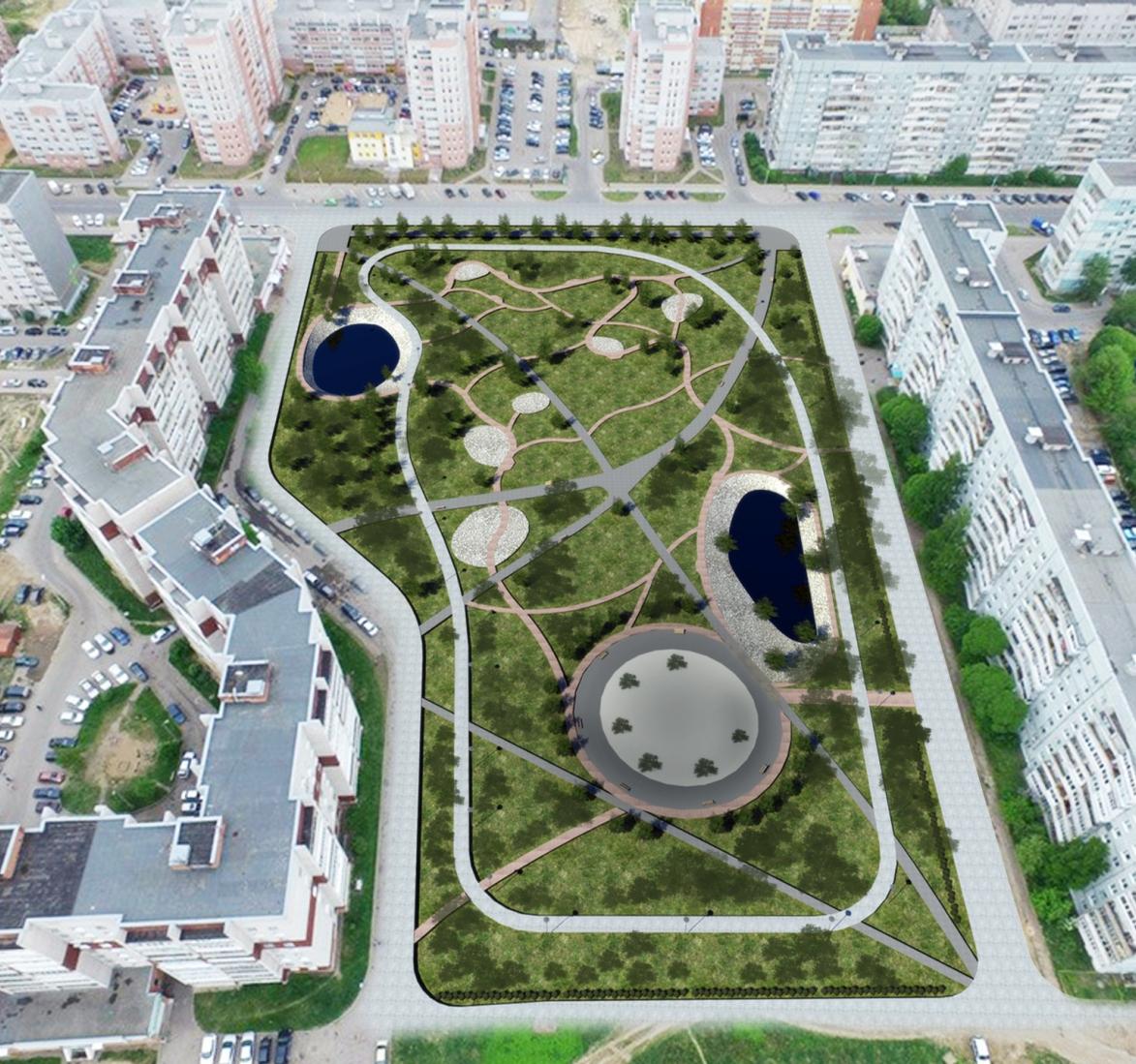 Фрязиновский парк в Вологде обещают благоустроить в 2018 году