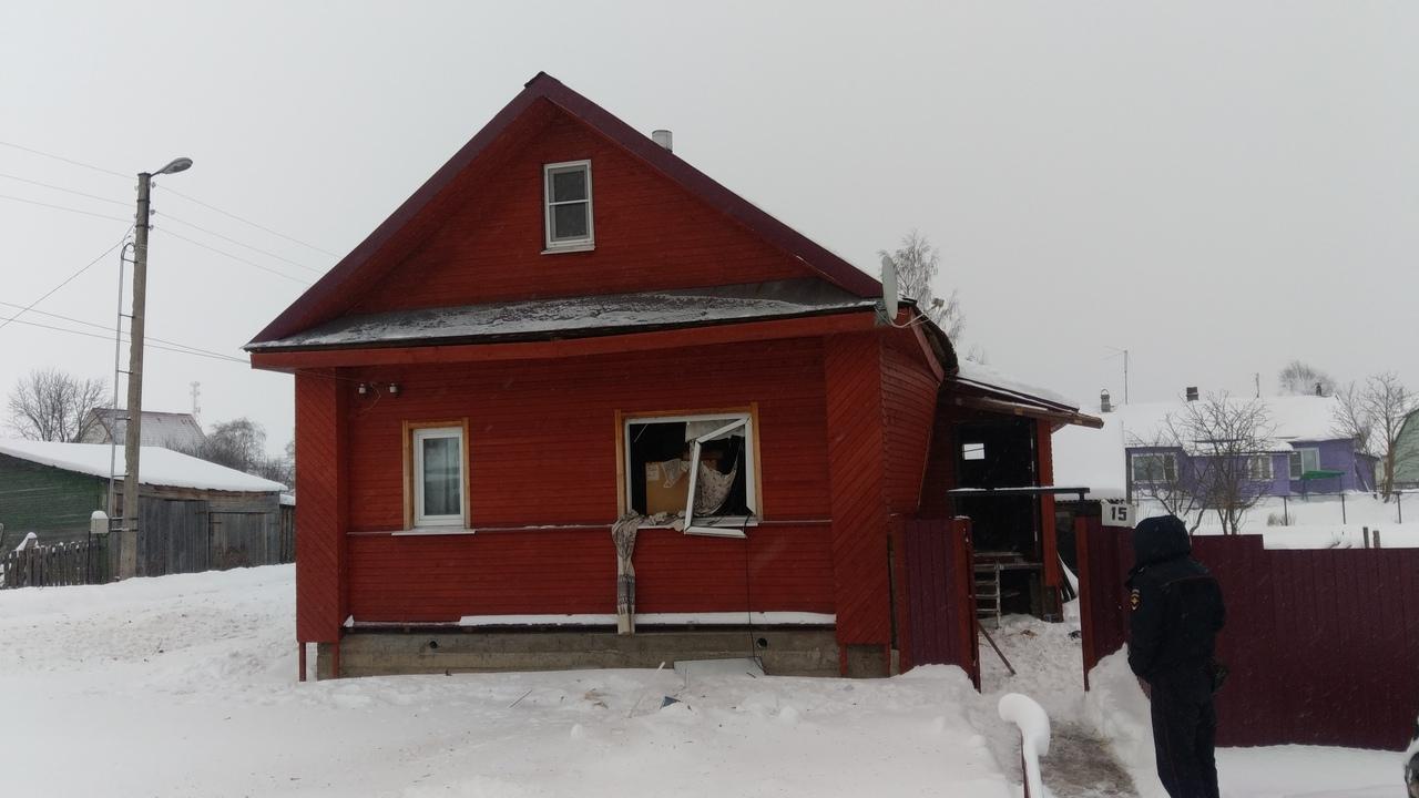 В частном доме в Белозерске произошел хлопок бытового газа