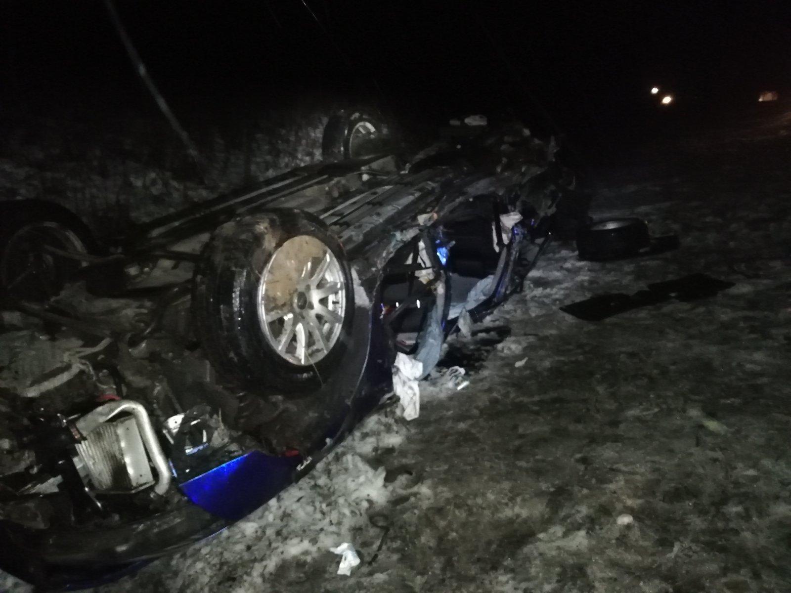 Пять человек получили травмы из-за выезда навстречку «Ауди» вВологодском районе