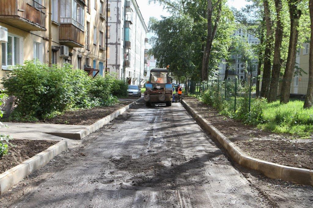 """В Череповце в рамках проекта """"Городская среда"""" отремонтировали 11 дворов"""