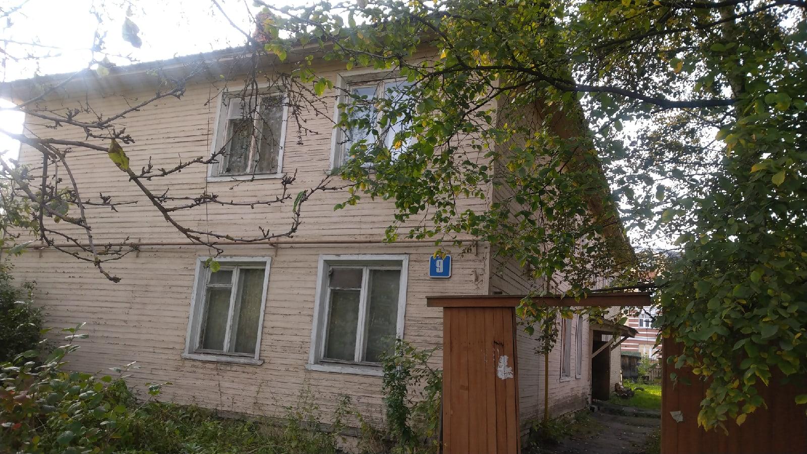 Жильцов аварийного дома в Вологде отключили от газа