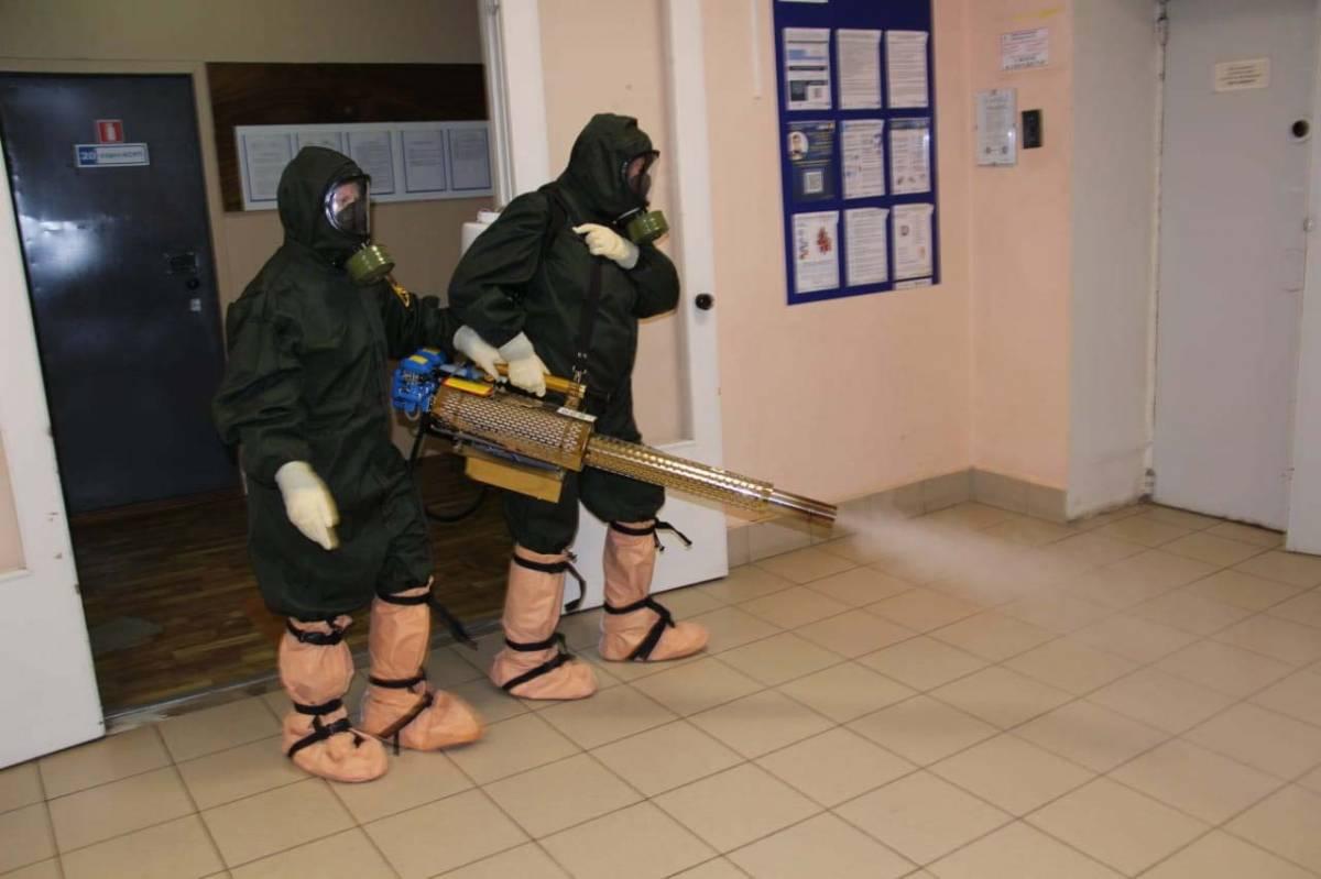 Для обеззараживания воздуха в вологодских медучреждениях используют генератор горячего тумана