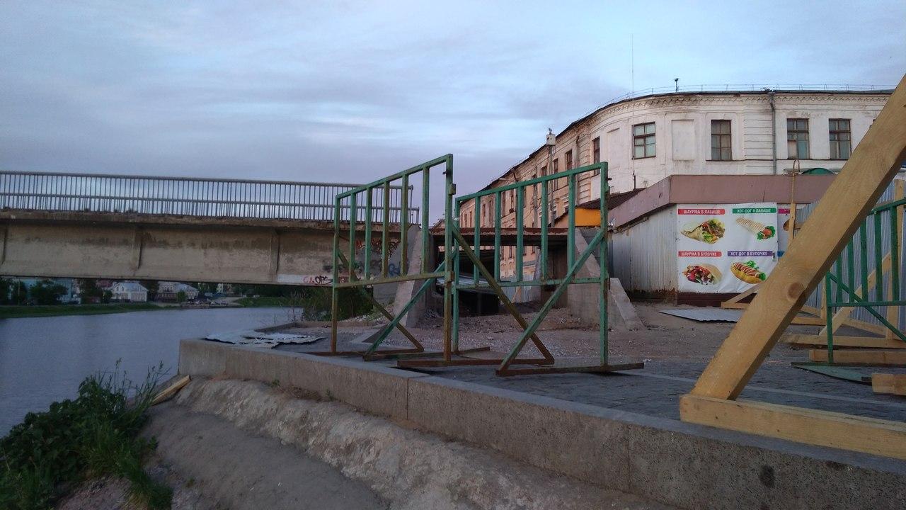 На ремонт Красного моста в Вологде выделили в три раза меньше денег, чем планировалось
