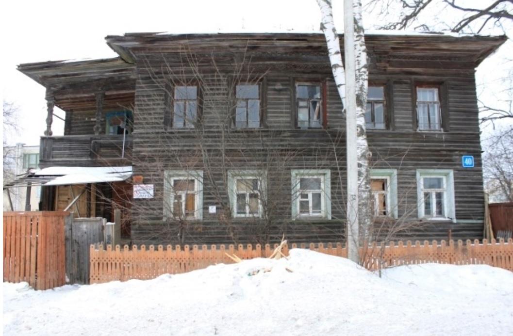 В Вологде сгорел еще один деревянный дом 19 века