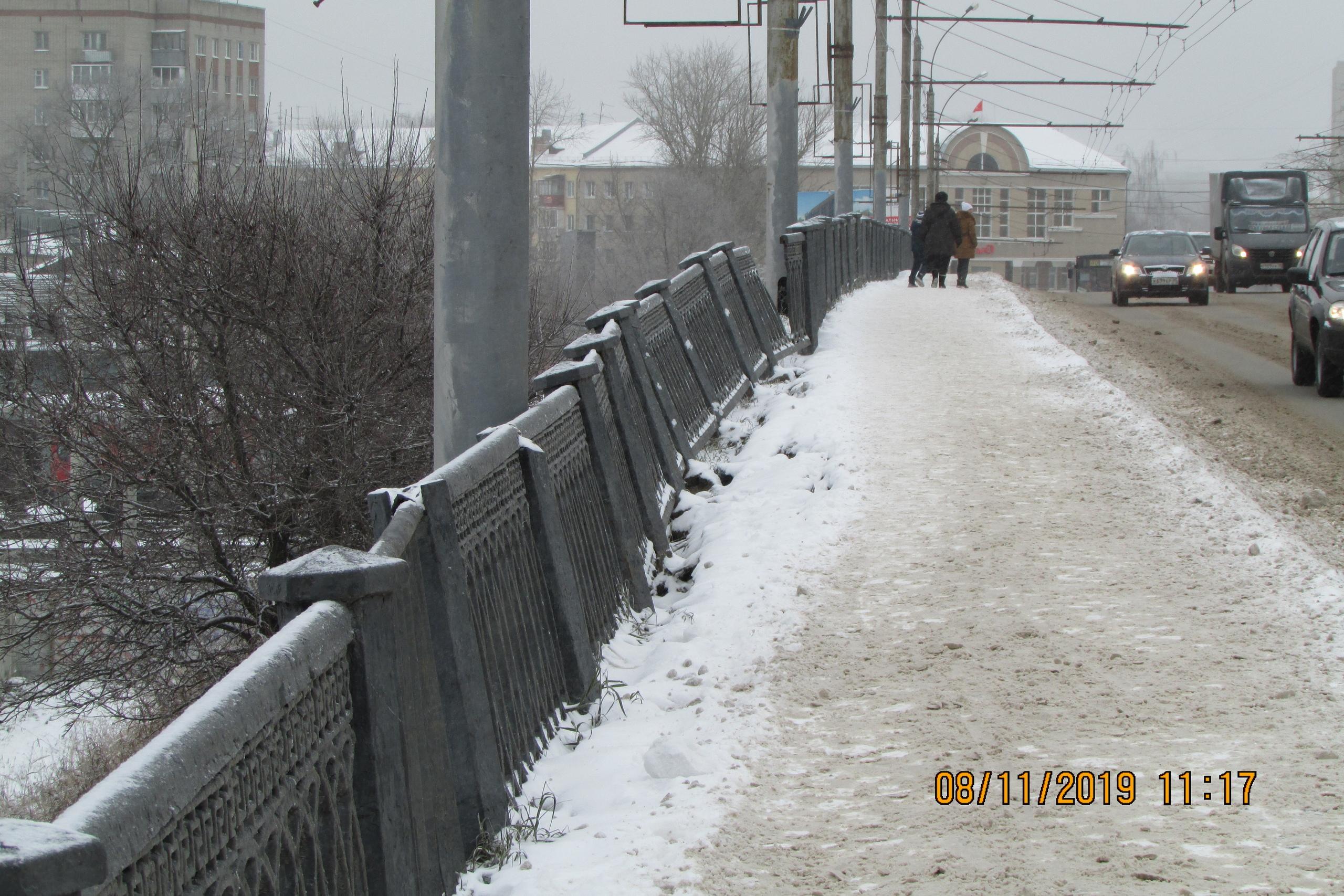 В Вологде разваливается Горбатый мост