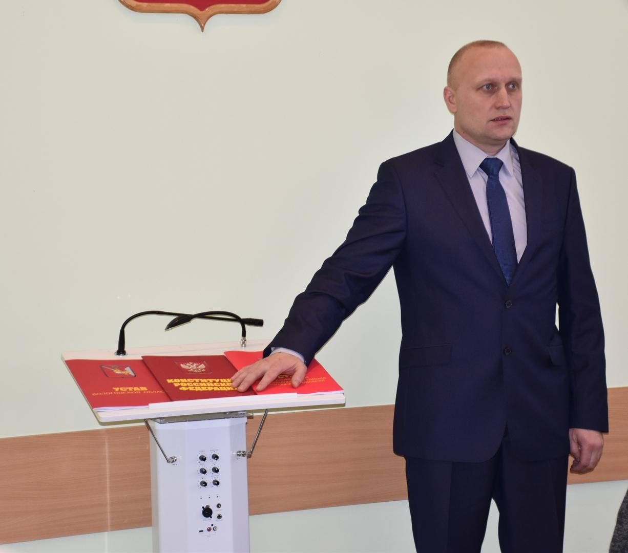 Новым главой Грязовецкого района стал самовыдвиженец, поддержавший решения единороссов