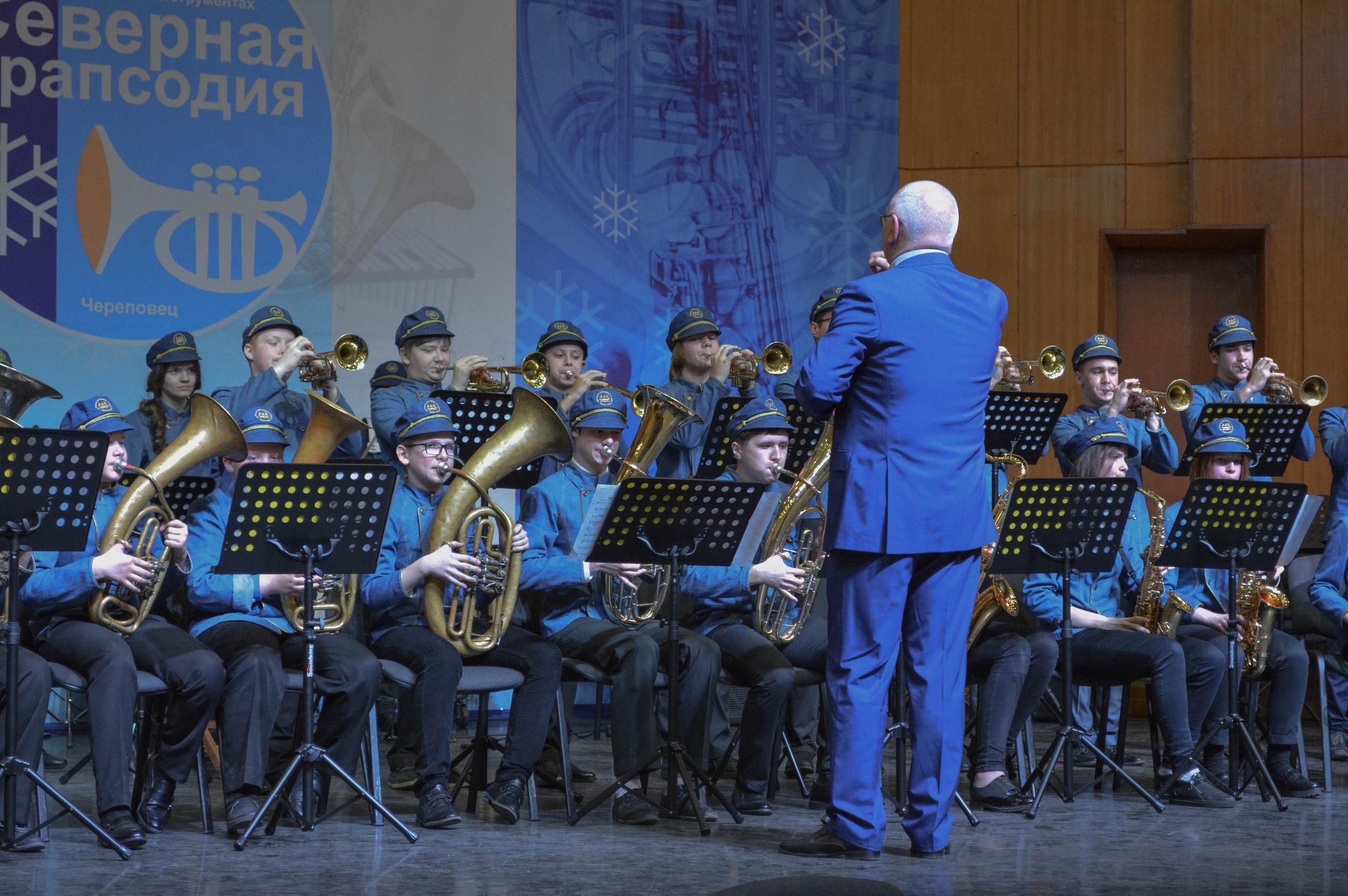 Выступление в Череповце духового квинтета Большого театра России будут транслировать в соцсети