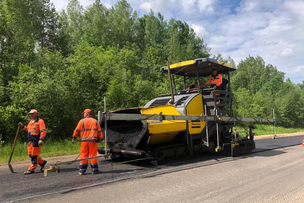 Дорогу Тотьма-Никольск обещают полностью отремонтировать доконца 2021 года