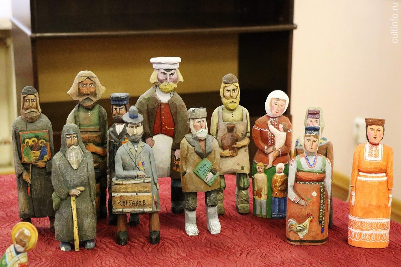 Выставка деревянных игрушек открывается в мастерской Пантелеева в Вологде