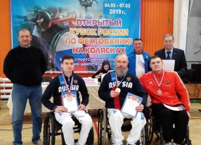 Череповчанин Александр Курзин стал победителем Кубка России по фехтованию среди спортсменов с поражением ОДА