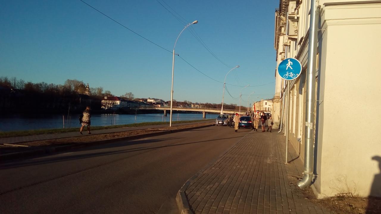 Вологжанина, пытающегося решить проблему с ПДД на Пречистенской набережной в Вологде, поддержали в соцсети