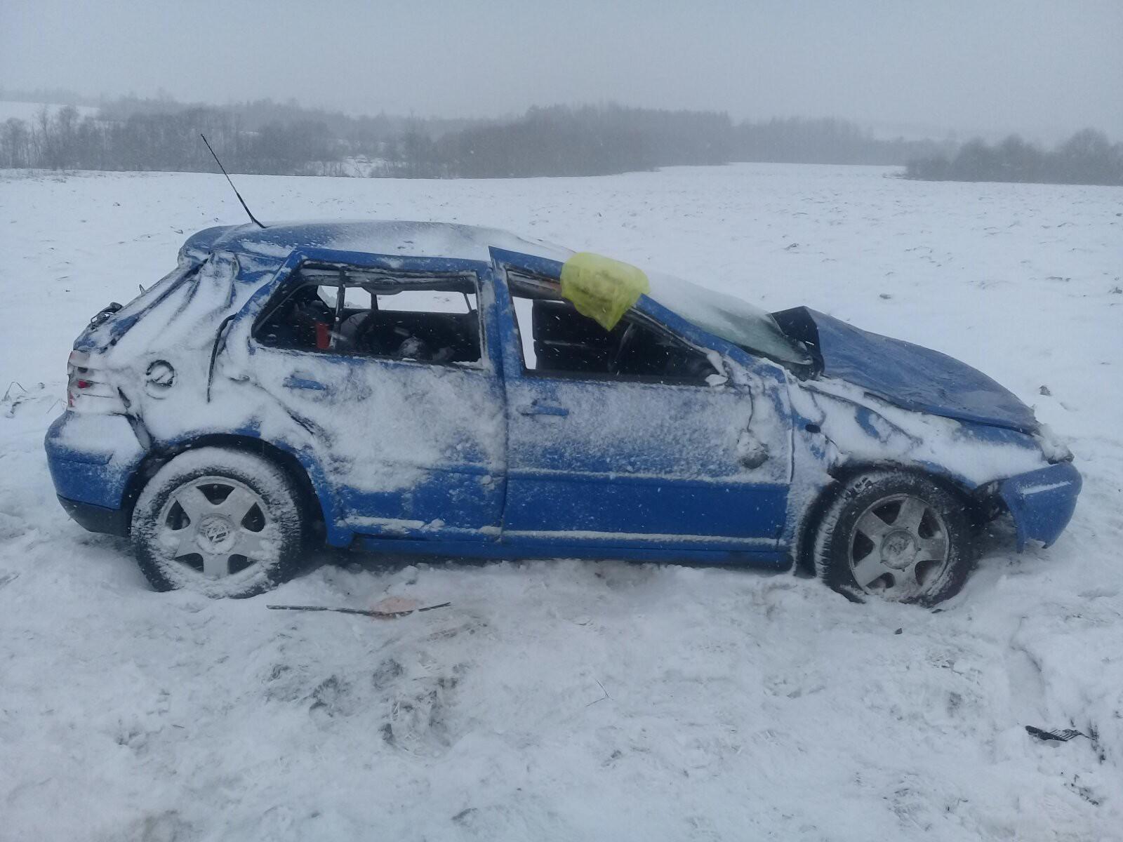 В Тотемском районе погибла пассажирка вылетевшей в кювет иномарки