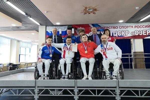 Череповчанин Дмитрий Беляев стал чемпионом России по фехтованию на колясках