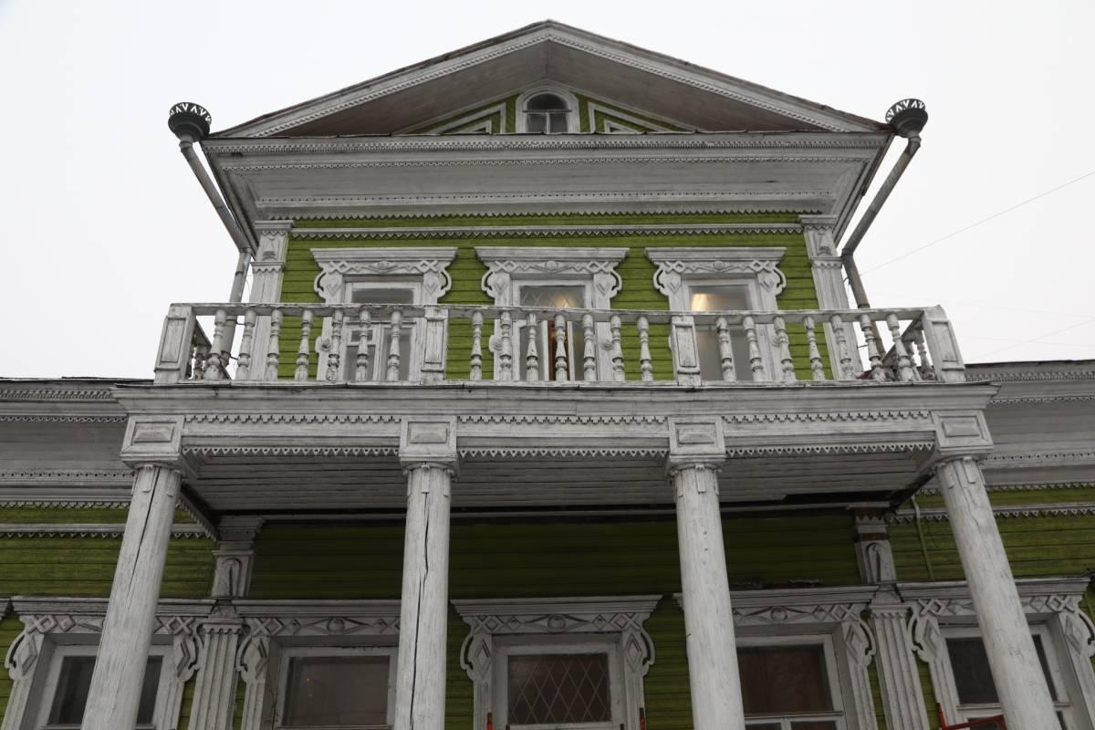 В Вологде началась реставрация дома Засецких