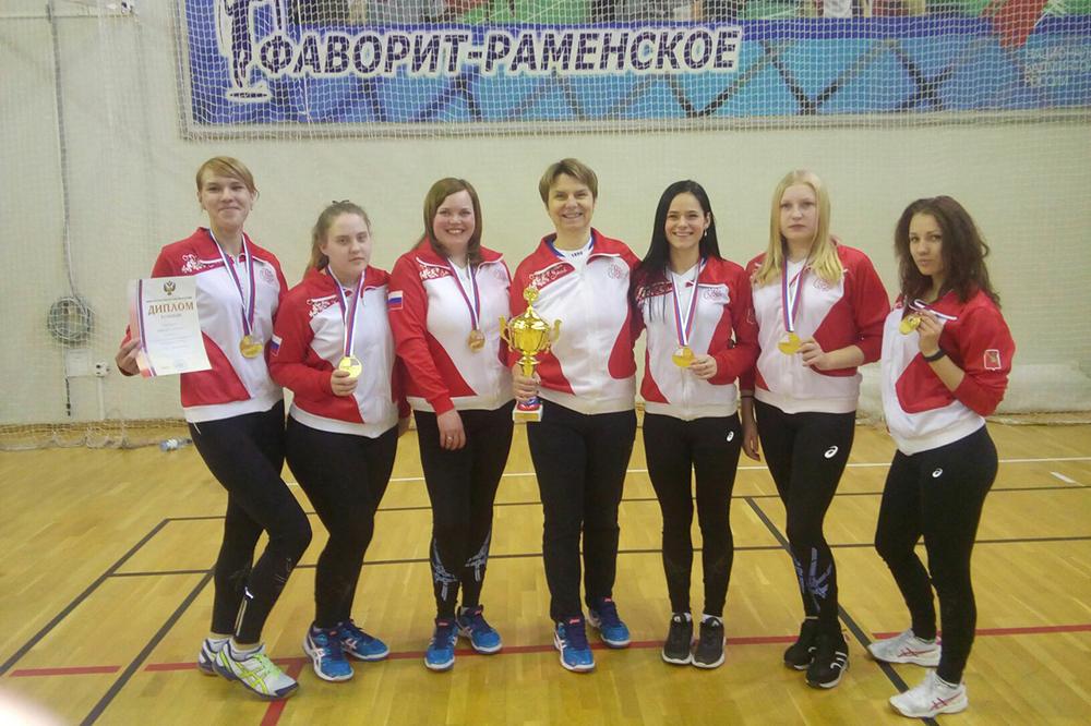 Спортсменки из Грязовца стали победителями Чемпионата России по голболу