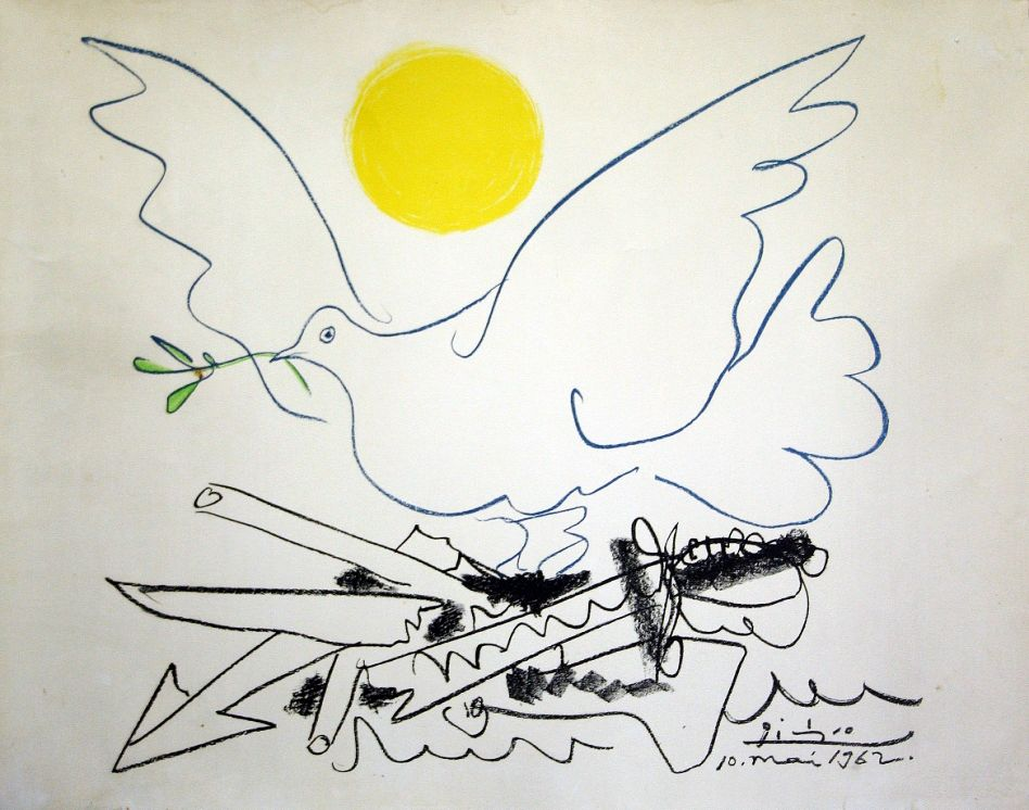 Подлинник «Голубя мира» Пабло Пикассо покажут на «Ночи музеев» в Великом Устюге