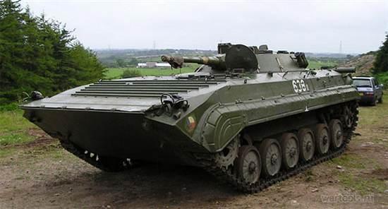 В Бабаево установят БМП-1 в качестве памятника участникам войн