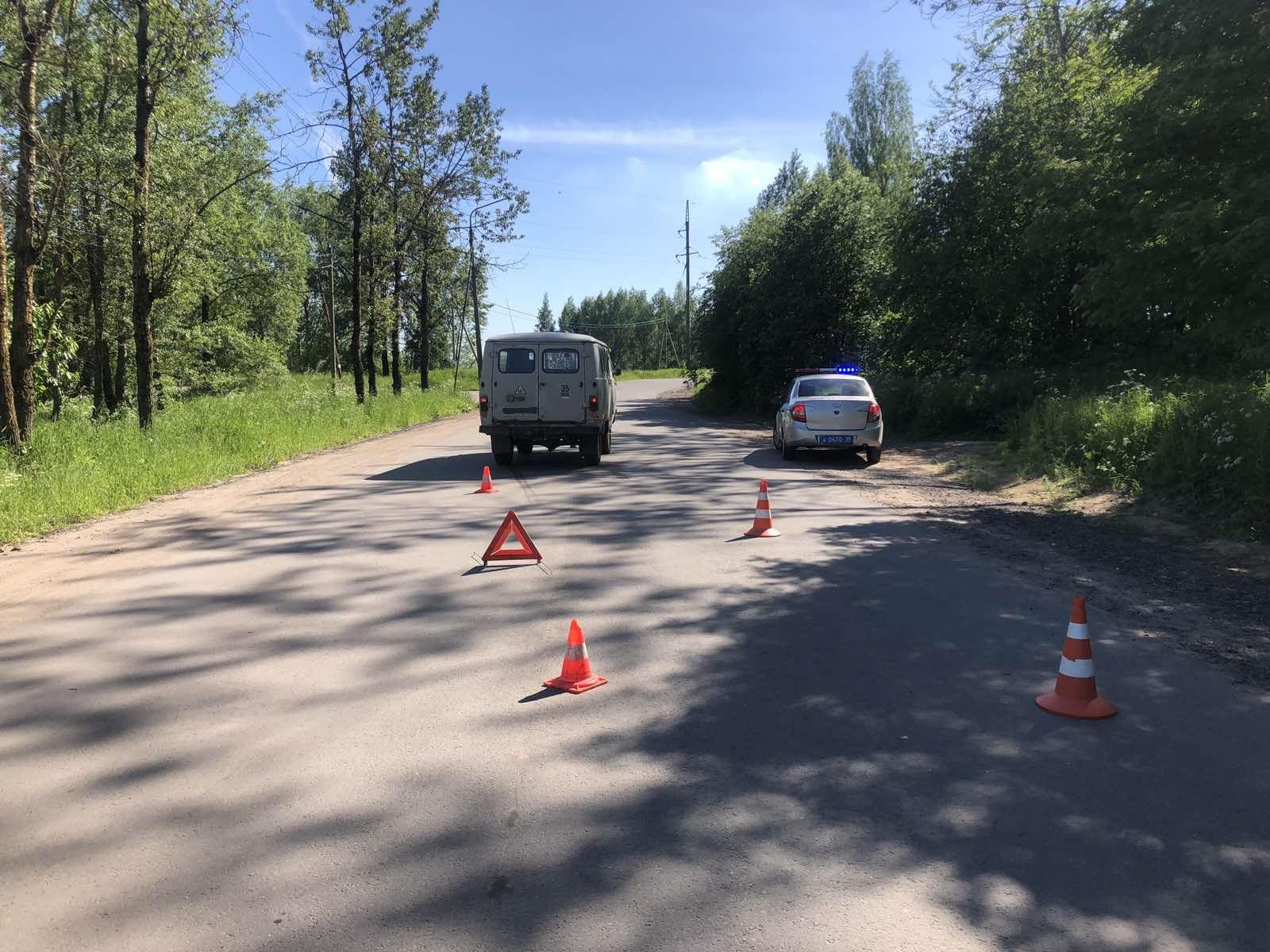 В Череповецком районе УАЗ сбил 10-летнюю девочку
