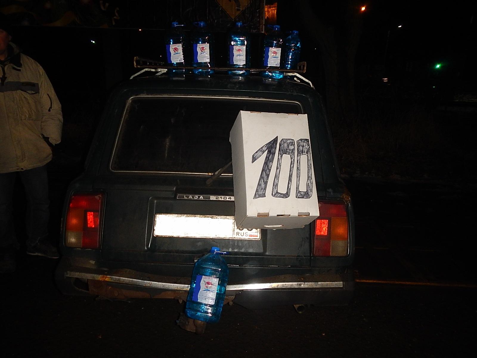 1500 литров незаконно продаваемой «незамерзайки» изъяли вологодские полицейские вдекабре