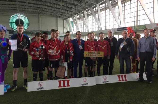 Вологжане стали бронзовыми призерами Европейского турнира Специальной Олимпиады по футболу