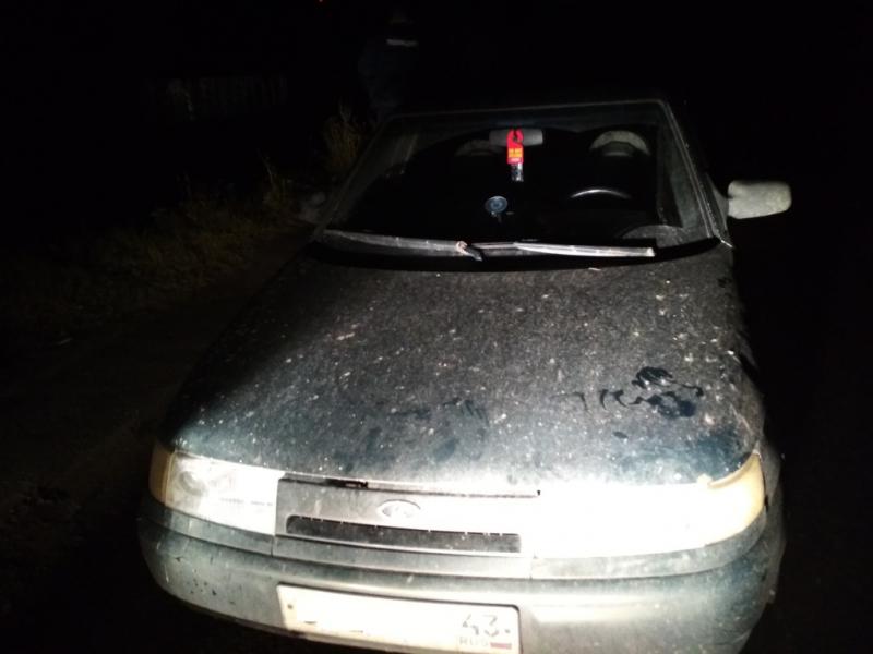 В Великоустюгском районе задержали пьяного водителя, который ехал в деревню Бухинино