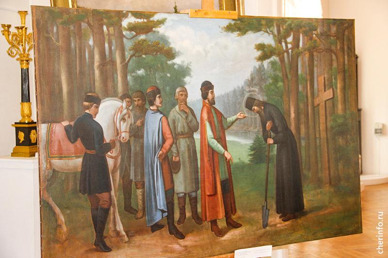 В Москве отреставрировали картину, изъятую в 1937 году из церкви в Кадуйском районе