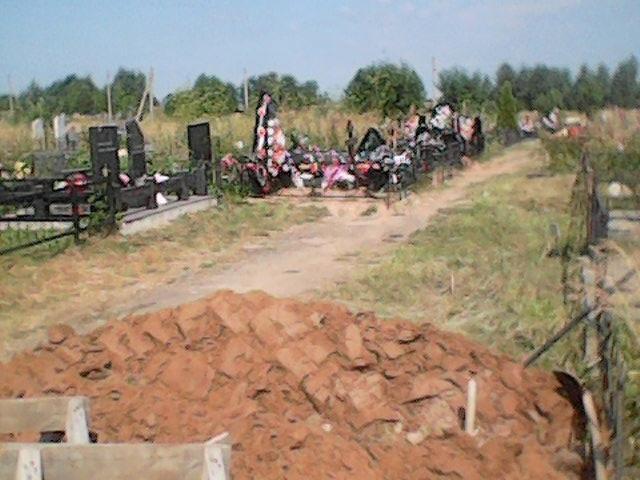На Козицинском кладбище в Вологде не хватает стандартных мест