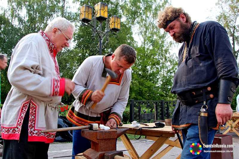 Фестиваль кузнечного мастерства «Железное поле» пройдет в Устюжне 9-10 августа