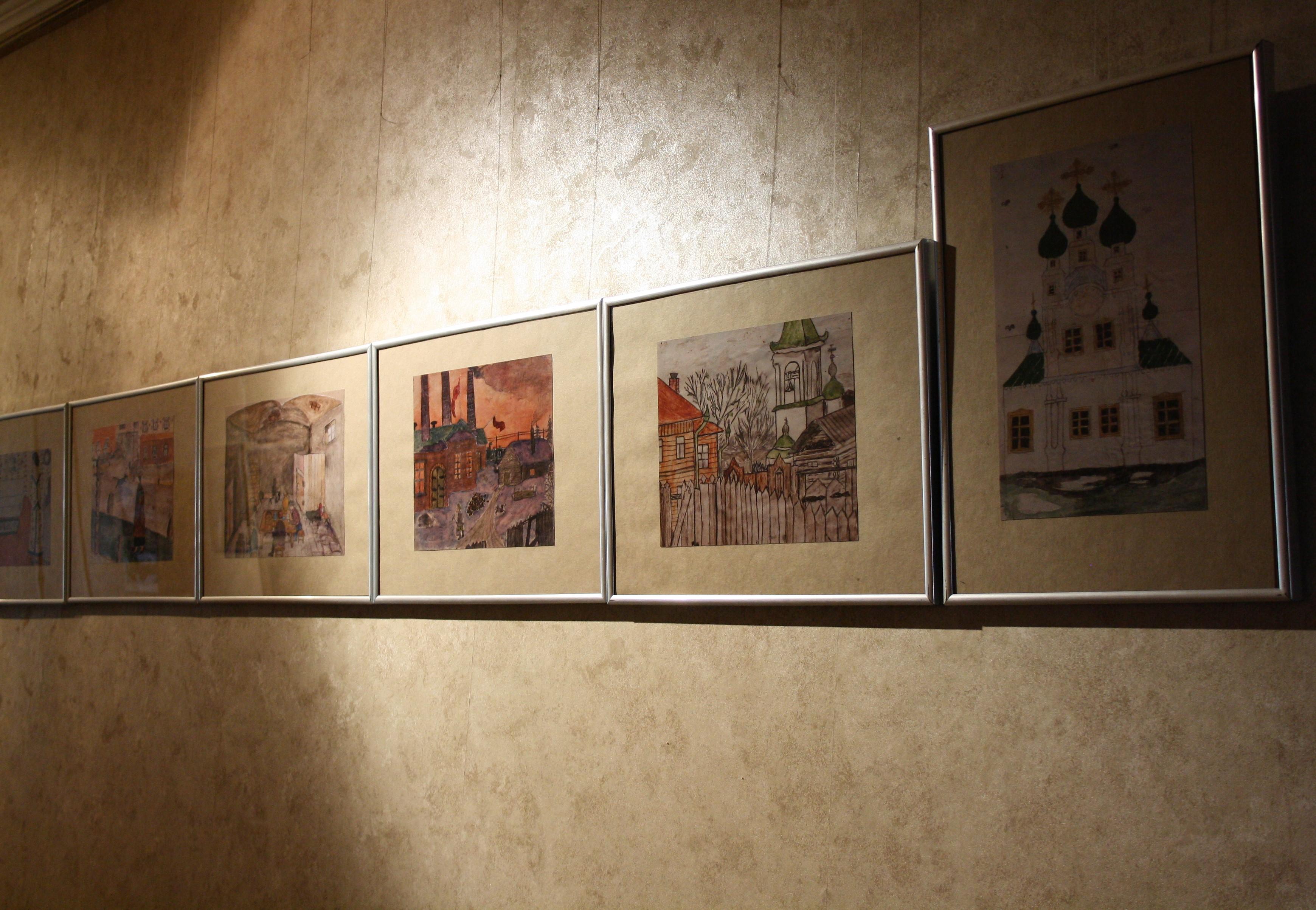 В «Мире забытых вещей» покажут рисунки вологодских школьников начала XX века