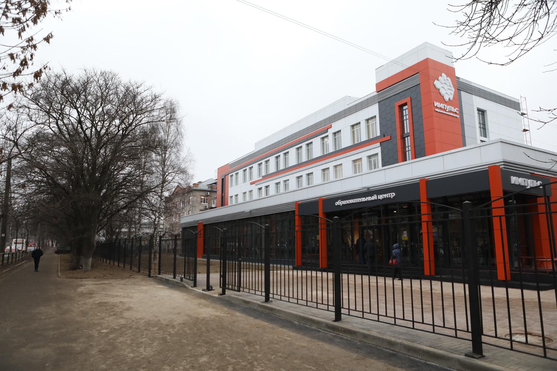 Областной центр поддержки одаренных детей «Импульс» открыли вВологде