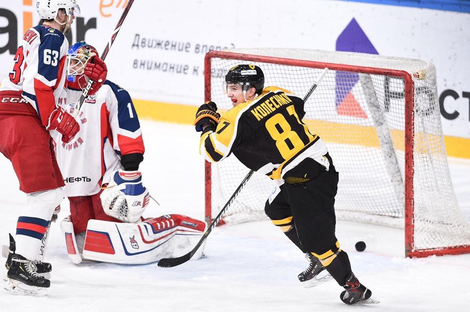 Череповецкий «Алмаз» сравнял счёт с «Красной Армией» в плей-офф МХЛ