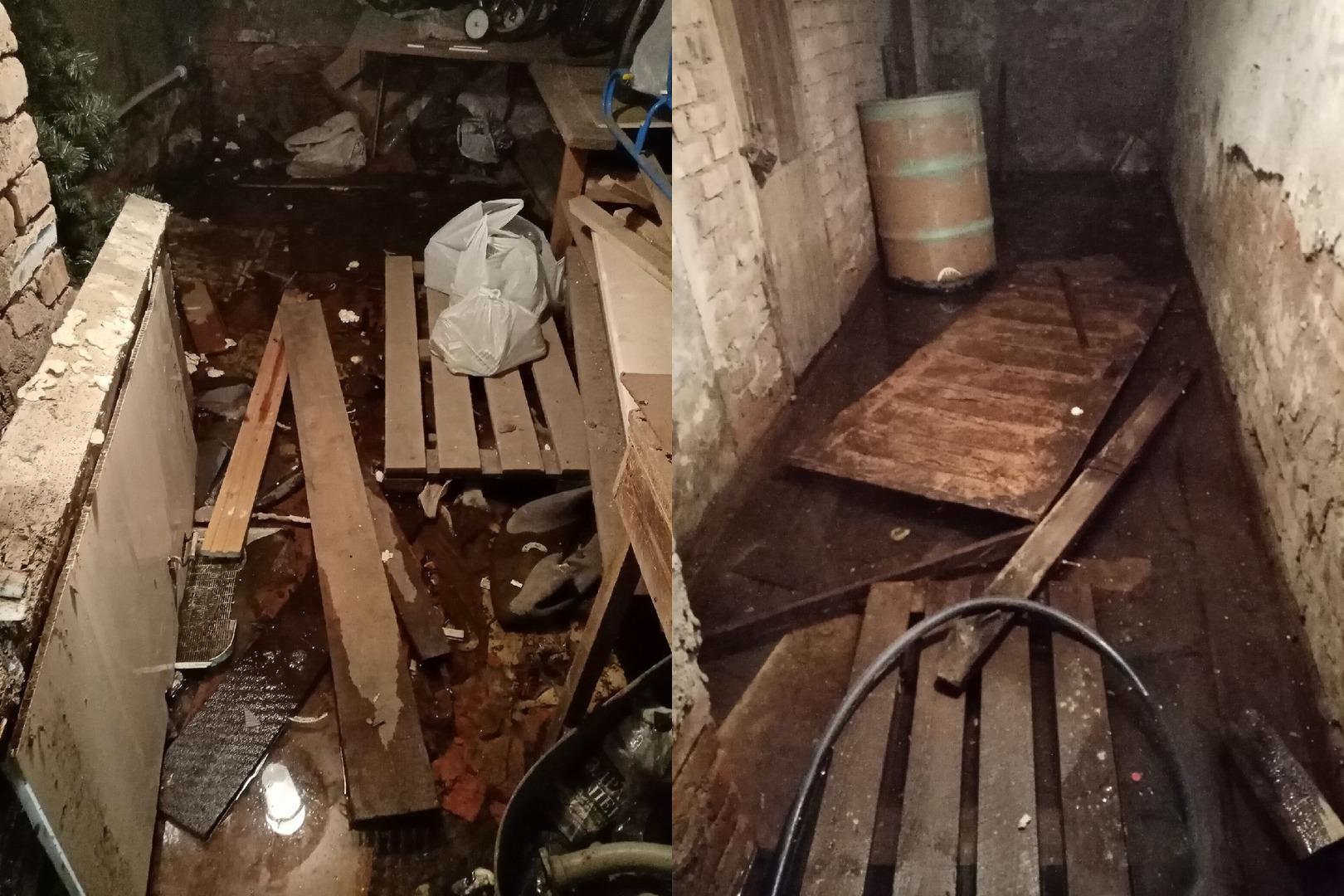 В Вологде жильцам дома с затопленным подвалом предложили за свой счет оборудовать дренаж