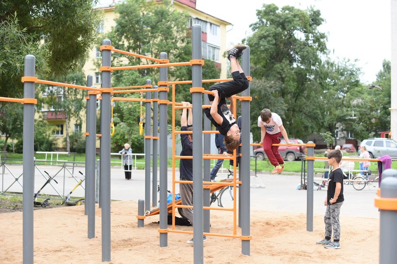 """В Вологде идет приемка детских и спортивных площадок, построенных в рамках """"Народного бюджета ТОС"""""""