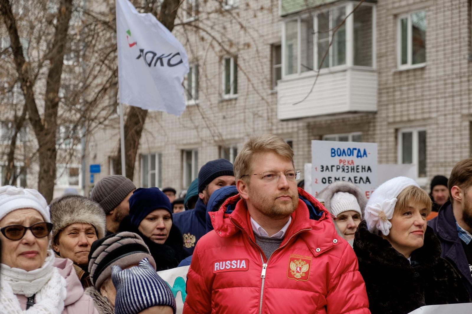 Зампредседателя партии «Яблоко» Николай Рыбаков: «Хочется, чтобы Вологда стала душой Русского Севера в действительности, а не только в брендбуке региональных властей»