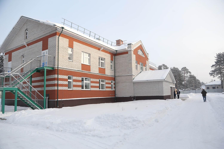 В Сямже новый корпус детского сада №2 открыли на год позже, чем планировалось