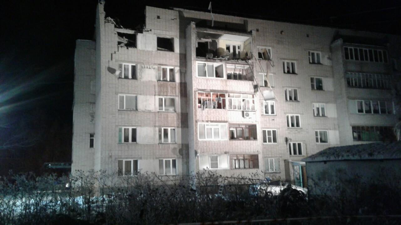 Из пятиэтажки на улице Карла Маркса, в которой произошел взрыв, эвакуировали 90 человек