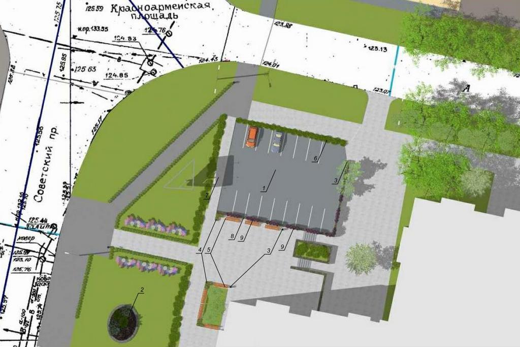 В Череповце на архитектурном совете отменили строительство парковки в центре города