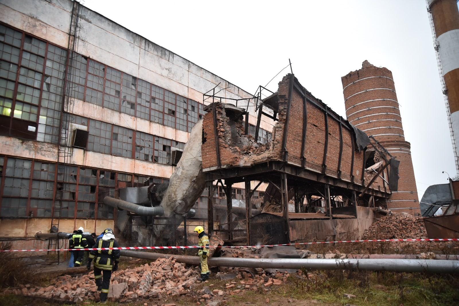 В Вологде произошел взрыв в котельной подшипникового завода