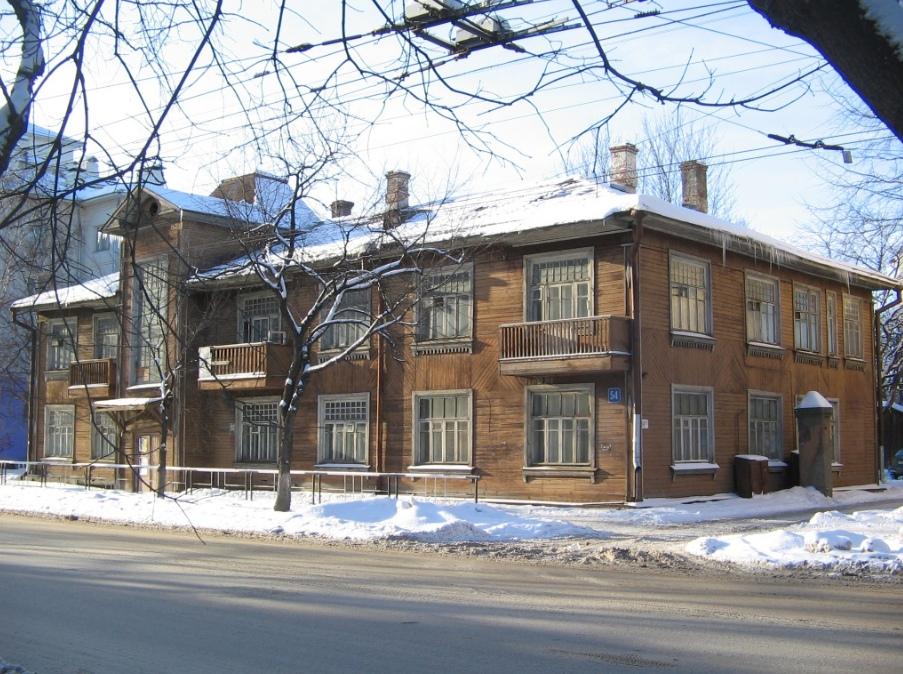 Дом «Севтранслеса» на улице Зосимовской, 54 выставили на продажу в Вологде