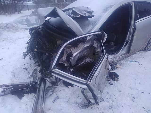 В ДТП на трассе под Вологдой пострадали четыре человека