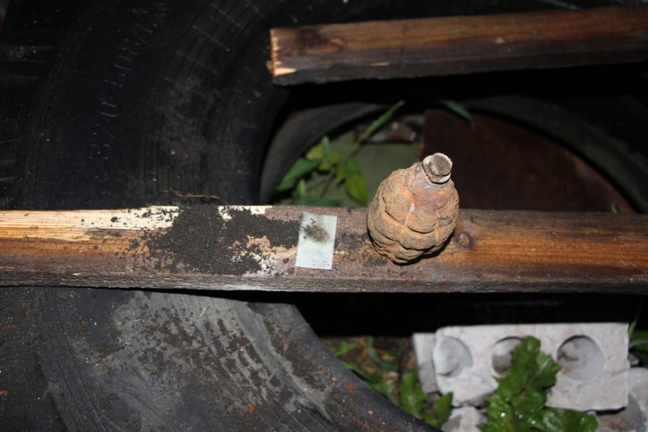 В Бабаево нашли гранату времен Великой Отечественной войны