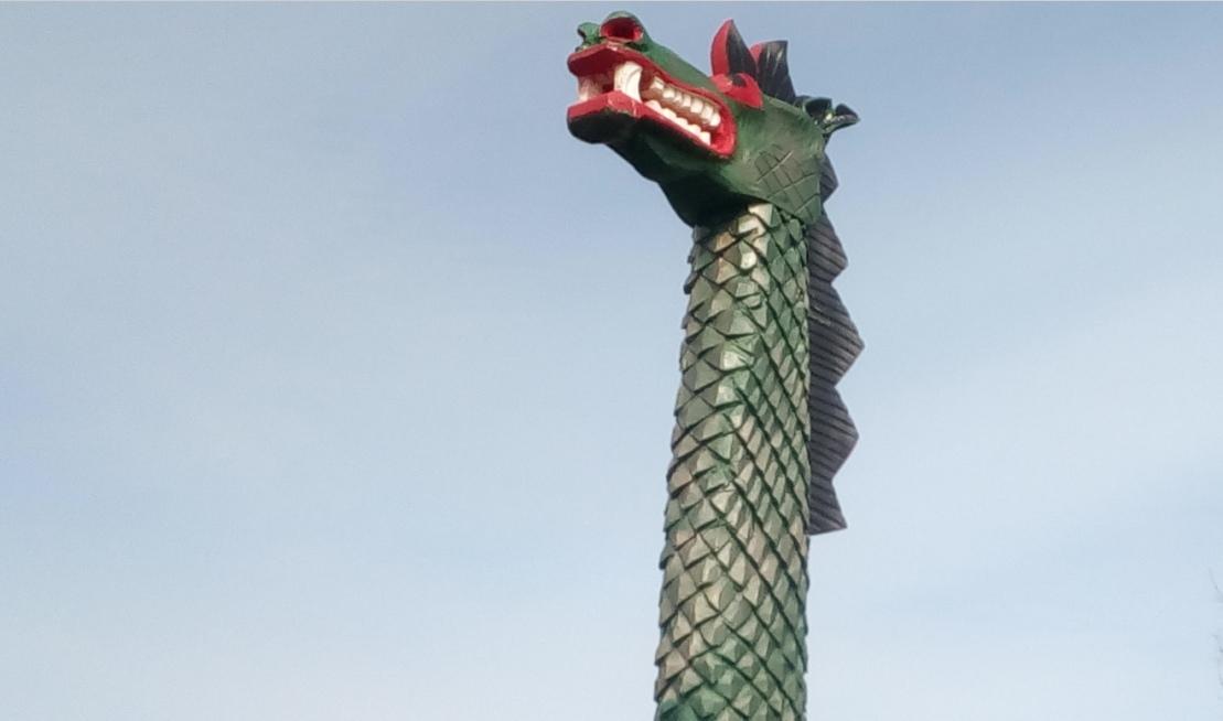 """В Белозерске нашлась пропавшая """"голова дракона"""""""
