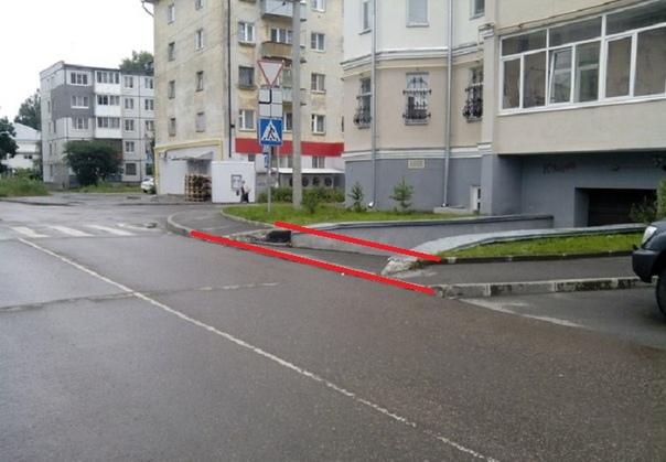 В Вологде после трех лет обращений от жителей оборудуют тротуар вдоль дома по Набережной VI армии, 161