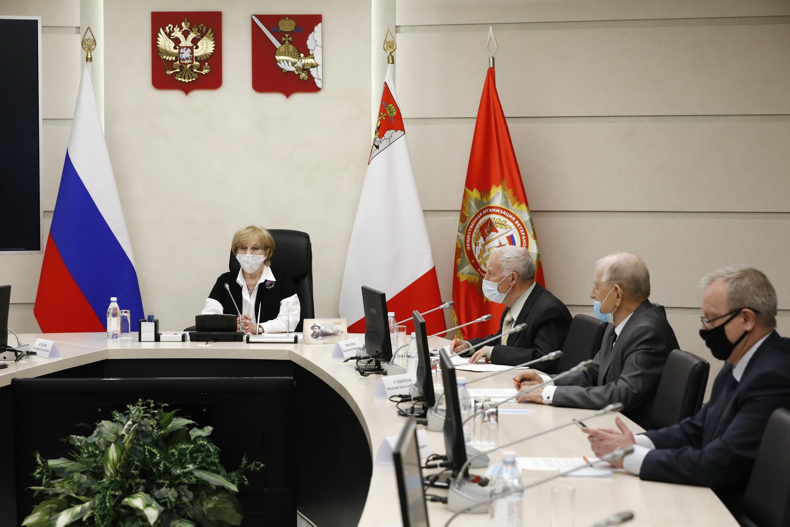 Председателем совета ветеранов Вологодской области избрана Надежда Тихомирова