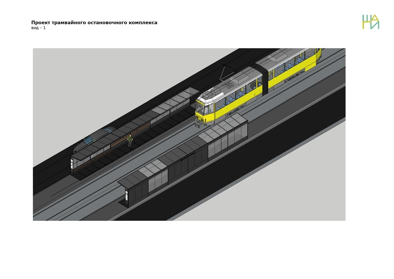 На трамвайных остановках в Череповце поставят модульные павильоны